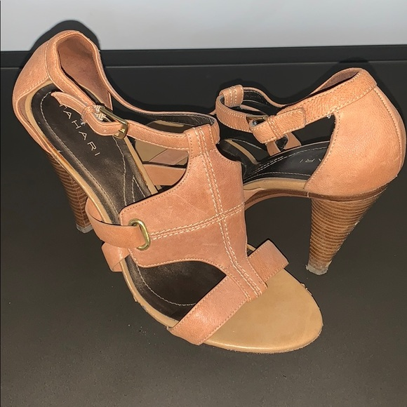 Tahari Shoes - Leather strap heels